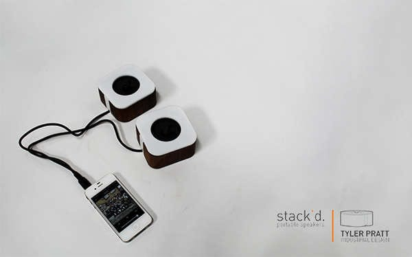stak'd speakers