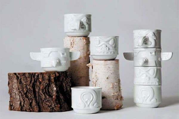 Totem Cups by Rob Southcott