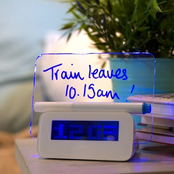 Scribble Alarm Clock - Exceptional Gift Ideas for Couples Who Have Everything