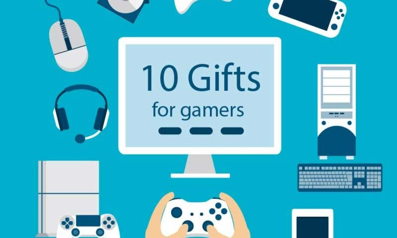 gamer gifts poster
