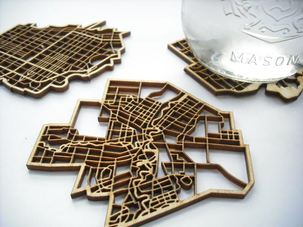 Toronto Coasters by The National Design Collective