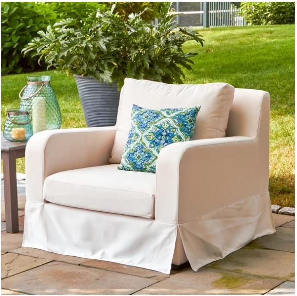 Arney Lounge Chair with Sunbrella Cushions