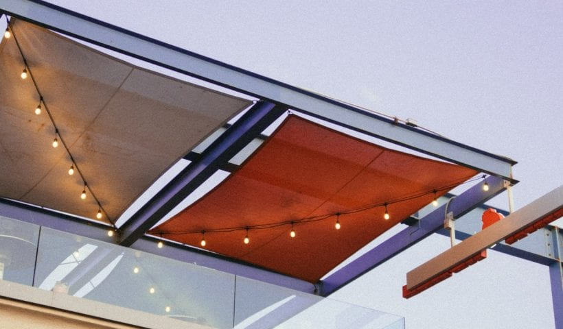 balcony awning