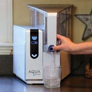 AquaTru Countertop reverse osmosis filter