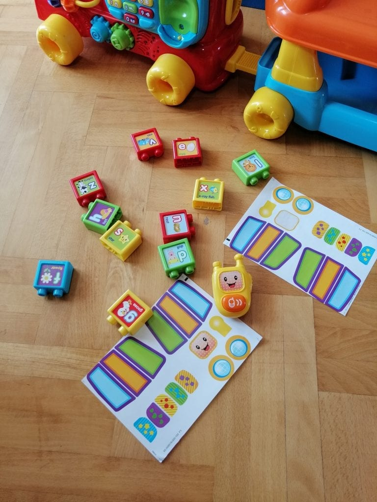 vtech walker music blocks